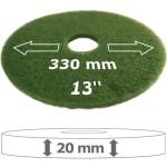 Grünes Superpad für die Einscheibenmaschine
